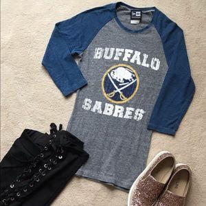 Buffalo Sabres Baseball Tee